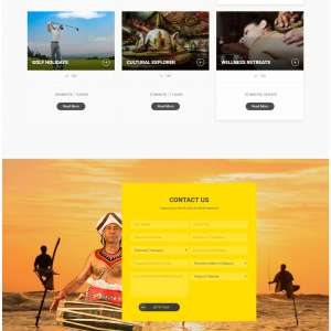 Exemplary Voyages : Travel Website : Web Design and Developement