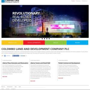Colombo Land  – Static Website PHP/HTML
