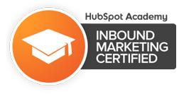Hubspot Certified Inbound marketing expert